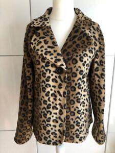 sehr süße, außergewöhnliche Jacke, Leopardenmuster, Gr. M/L Neu/Ungetragen !