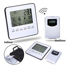 Digital Wireless Weather Station Indoor/Outdoor Forecast Temperature Humidity