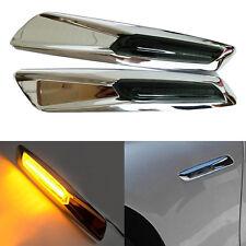 Chrome Style LED Side Turn ligths Marker signal For BMW E60 E82 E87 E88 E90 E91