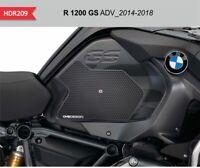 Protezioni laterali nere per serbatoio e carena BMW R1200GS ADV dal 2013 al 2018