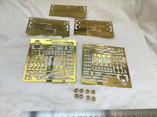 More details for 1 gauge ( 10mm ) brass 4 wheel compensation unit etc - please read !