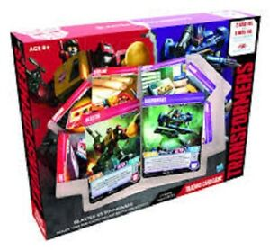 TRANSFORMERS TCG BLASTER VS SOUNDWAVE STARTER BRAND NEW & SEALED ~ CLEARANCE