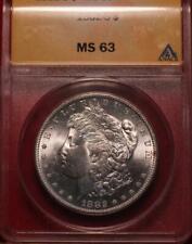 1882-S San Francisco Mint Silver Morgan Dollar ANACS MS 63