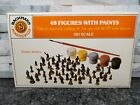 HO Bachmann Plasticville 48 Figures with Paint Kit New Sealed Old Stock L72