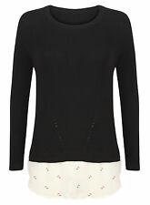 Marks and Spencer Women's No Pattern Medium Knit Long Sleeve Jumpers & Cardigans