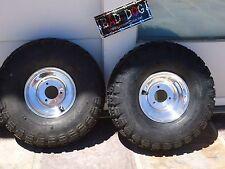 Mini Bike Wheel RIM Kit Polished alloy with disc brake CHEN SHIN TIRES 530 450 6