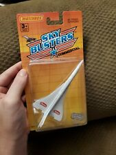 Matchbox Sky Busters Heinz 57 Air France Supersonic Die Cast Metal Plane