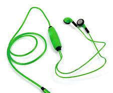Light-Up Earphones in Green for Archos 101 XS2, 70c Cobalt / Titanium & 96 Xenon