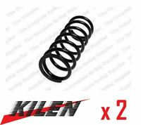 2 x KILEN FRONT AXLE COIL SPRING PAIR SET SPRINGS GENUINE OE QUALITY - 13140