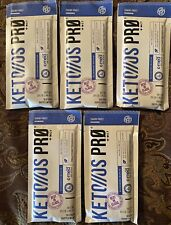 ~ PRUVIT KETO OS PRO KETONE INFUSED PROTEIN~ 5 PACKS OF BLUEBERRY MUFFIN PROS~