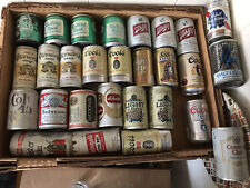Lot Of 28 Domestic 7-8Oz. Shorty Beer Cans. Usa. Empty