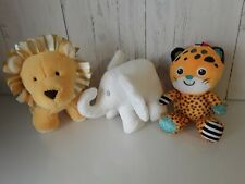 Baby Soft Hug toy Rattle Bundle Jellycat Mothercare Little white company