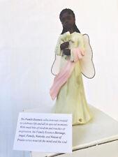 African American Figurine Sarah' Attic Family Essence. Hearts Desire Angel.