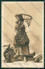 Biella costumi cartolina QQ6336