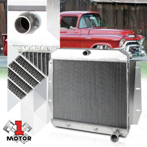 Aluminum 3 Row Core Performance Radiator for 55-59 Chevy/GMC Pickup Truck I6/V8