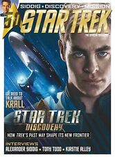 STAR TREK OFFICIAL RIVISTA #59 (186 UK) Copertina UN - Discovery,Krall ,50 ANNI