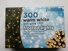 eveready 300 warm white LED Chaser Lights + 8 function controller Indoor/Outdoor