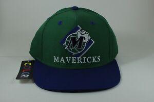 Throwback TI$A Dallas Mavericks Snapback Hat Cap NBA Basketball Vintage Retro