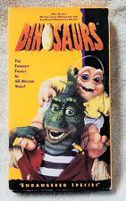 DINOSAURS Volume 3 VHS Video Tape Walt Disney Jim Henson & Michael Jacobs Prod.