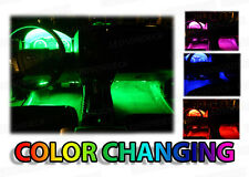 4pc LED Glow Interior Chevy Cars Kit - Radio Dash Footwell SMD Accent Lighting