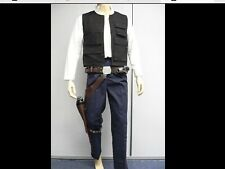 Han Solo Full Costume Belt Holster Droid Caller set Halloween