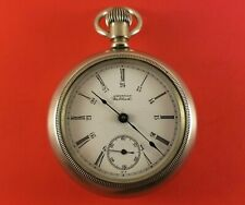 Antique Waltham Pocket Watch 15 Jewels 18 Size S/N 16794915 Ca.1909