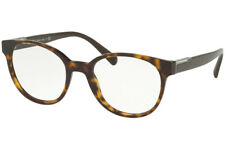 Prada Eyeglasses PR10UV 2AU1O1 54 Havana, Size 54-20-145