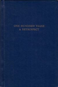 """History of Weston High School. ON """"One Hundred Years, A Retrospect 1857-1957"""""""