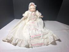 "Bye Lo Baby Doll Approx 12"" Original Clothing. Grace S. Putnam Brown Eyes"