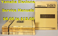 Yamaha Electone Service Manuals: Mc200T, Mc400T/X, Mc600T, Me10, Me55A+ (Pick 1)