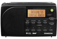 Sangean DPR-65 Digital Portable Travel Radio DAB+/FM-RDS+AUS WNTY+Pouch BLACK