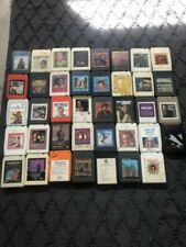 Lot of 39 - 8 Track Tapes - Classic Country and other genres - Untested