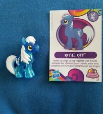 My Little Pony - Blind Bag -Wave 10 - ROYAL RIFF - with card
