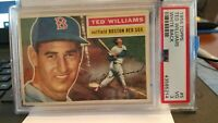 ORIGINAL 1956 TED WILLIAMS CARDS