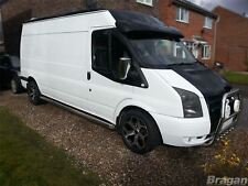 To Fit 00 - 06 Ford Transit MK6 LWB Side Bars Steps Tubes Running Boards Van