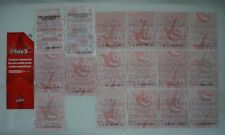 COLLECTORS - VINTAGE LOTTO TICKETS FROM 2000, 2002, 2003 & 2004 & 2011 LEAFLET