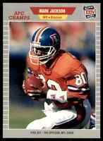 1989 ProSet SILVER #104 Mark Jackson WR Denver Broncos RARE SB XXIV / Purdue