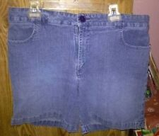 Lee Blue Denim Shorts Size 18 W/M