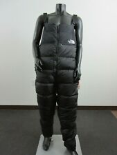 Mens XL North Face Nuptse 700-Down Insulated Warm Winter Sports Bibs Pants Black