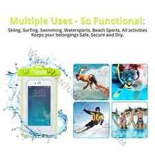 Water resistant Universal Pouch Bag Pack Case For all Cell Phone (3 Pack)