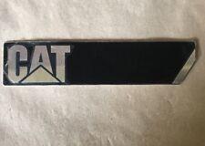 Original CATERPILLAR Metal Emblem Diecast Raised Lettering (AA4)