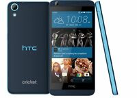 "Unlocked Smartphone 5"" HTC Desire 626 13MP 4G LTE 16GB Radio GPS Android - Blue"