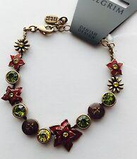 Pilgrim Bracelet With Genuine Swarovski Crystals. $12 16 Carat Gold Plated