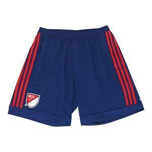MLS All Star Team Crest Adidas Men's Navy Blue Adizero Authentic Shorts