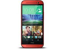HTC One m8 16gb ROSSO [senza SIM-lock] bene