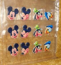 Mickey Mouse & Friends Edible Sugar Cupcake Toppers,DecoPac,12 ct,Multi-Color