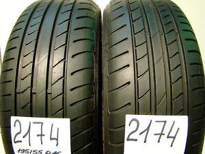 2 x Sommerreifen Dunlop SP Sport Maxx TT DSST  195/55 R16 87V,RSC,RUNFLAT.