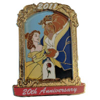 2011 Authentic Disney Beauty and the Beast 20th Anniversary Collectible LE Pin