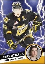 2017 Hot Shot Prospects Electric Centres Insert rookie NOLAN PATRICK