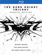 The Dark Knight Trilogy Batman Begins Rises (Blu-ray 2016 Special Edition) NEW